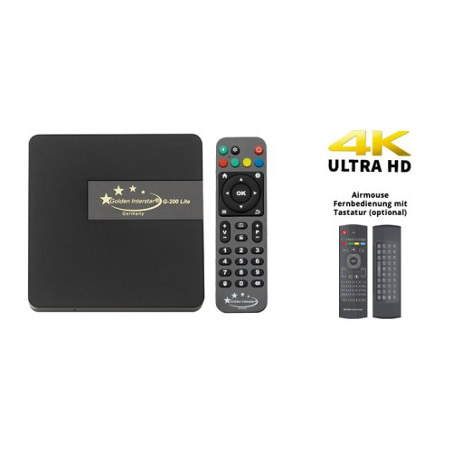 Golden Interstar G-200 Lite - 4K UHD Android 7.1 TV-Box IP Android Onetrade