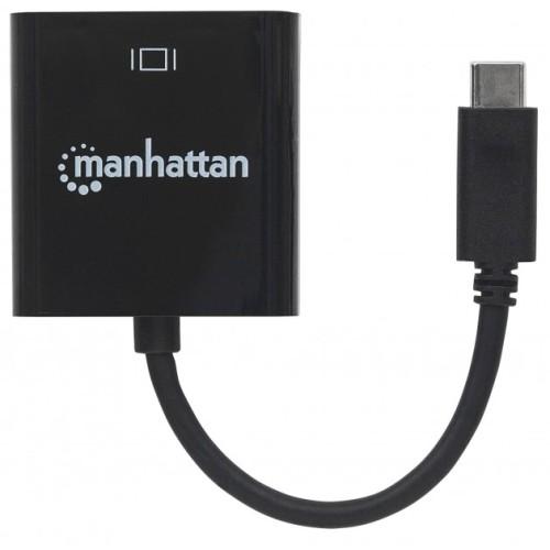 Manhattan IADAP USB31-HDMIM - Μετατροπέας USB 3.1 Type C σε HDMI Converters HDMI / ΗΧΟΥ Onetrade