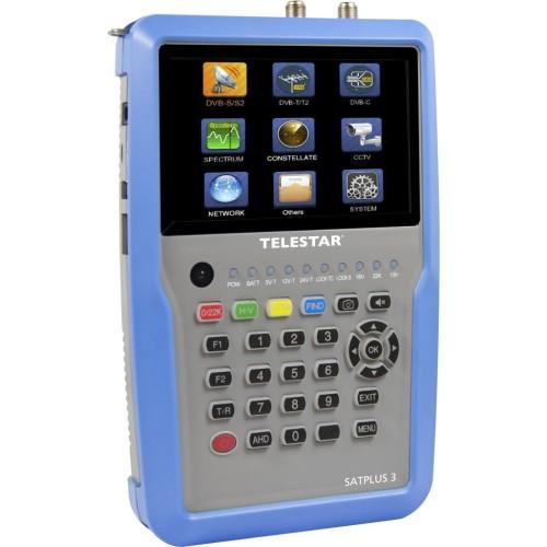 TELESTAR SATPLUS 3 - Επαγγελματικό Combo Όργανο Πεδιόμετρα Onetrade