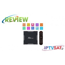X96 Max - Android 9.0 8K 4/64 TV Box Κριτική
