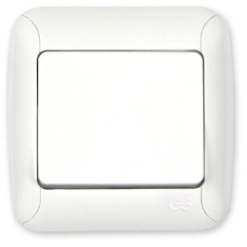 Διακόπτης απλός - Λευκό Διακόπτες Καλωδίων Onetrade