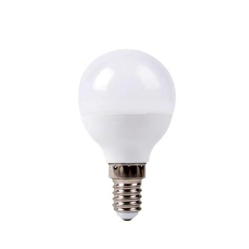 Redled Σφαιρική Λάμπα - VALUE LED Ε14/6W/220V/6500K/Ψυχρό Λάμπες