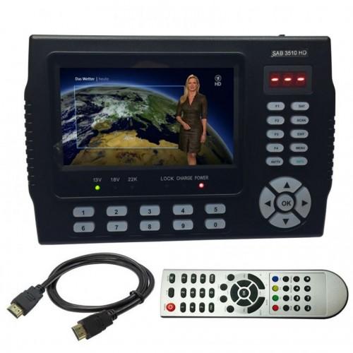 SAB Meter 3510 HD - HDMI DVB-S/S2 Πεδιόμετρο Πεδιόμετρα Onetrade