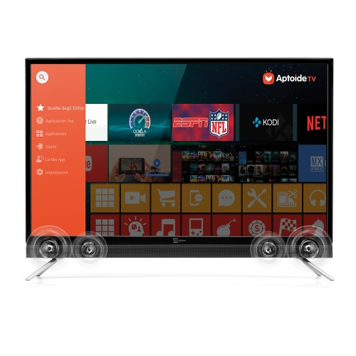 "TELE System SOUND32 SMART - TV LED 32"" Τηλεοράσεις Onetrade"