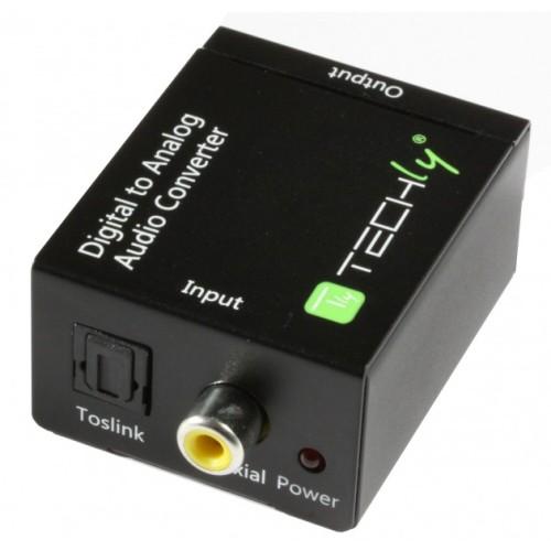 Techly IDATA SPIDF-3 - Μετατροπέας Ψηφιακού Σήματος Ήχου σε Αναλογικό  Converters HDMI / ΗΧΟΥ Onetrade