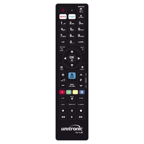 Unitronic 1718 - Χειριστήριο Αντικατάστασης Για LG Τηλεχειριστήρια Onetrade